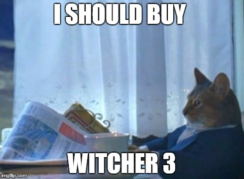 After finally finishing Witcher 2