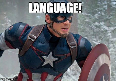 LANGUAGE! | image tagged in language | made w/ Imgflip meme maker