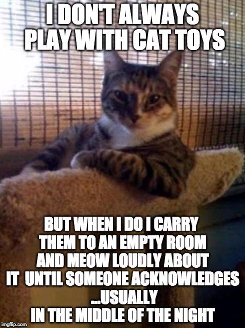 Funny Meme Maker : Cat toys imgflip