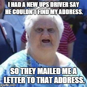 how to change ups my choice address