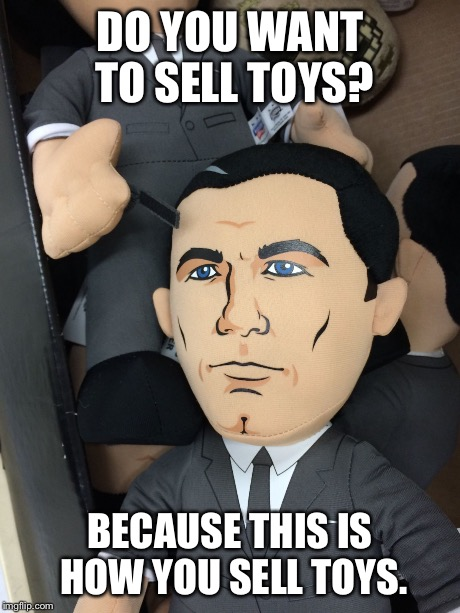 Image result for cartoons selling toys meme