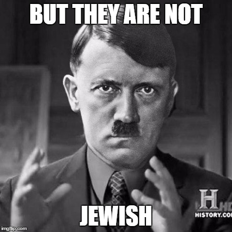 Ancient jews | BUT THEY ARE NOT JEWISH | image tagged in ancient jews | made w/ Imgflip meme maker