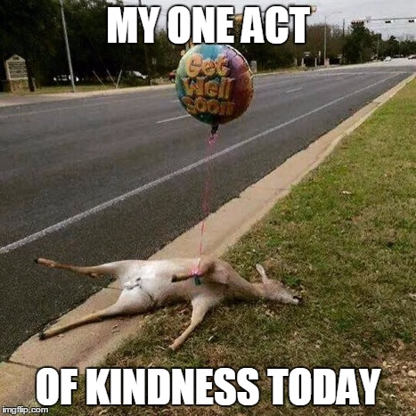 Get Well Soon | MY ONE ACT OF KINDNESS TODAY | image tagged in get well soon | made w/ Imgflip meme maker