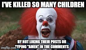 Funny Meme Facebook Comments : The face of evil imgflip