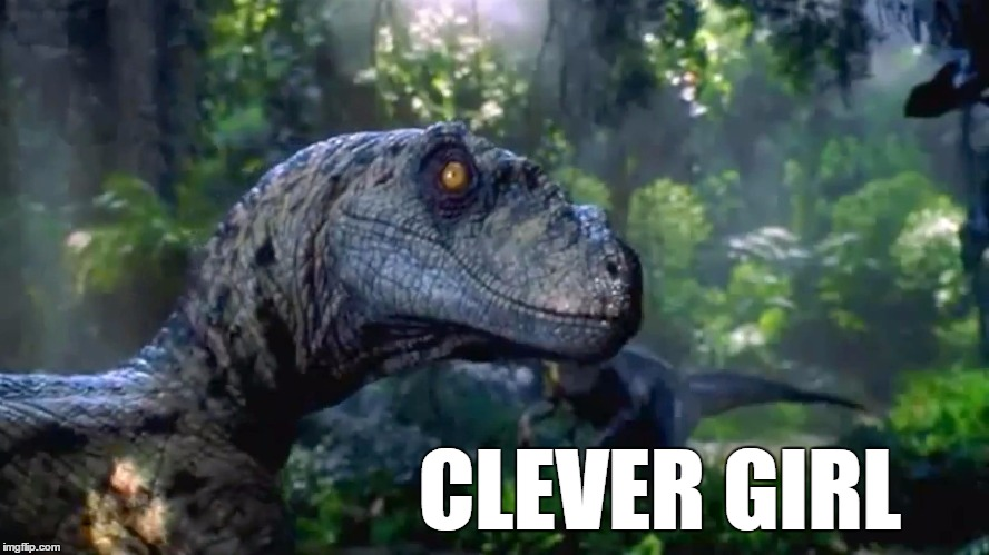 Clever girl - Imgflip