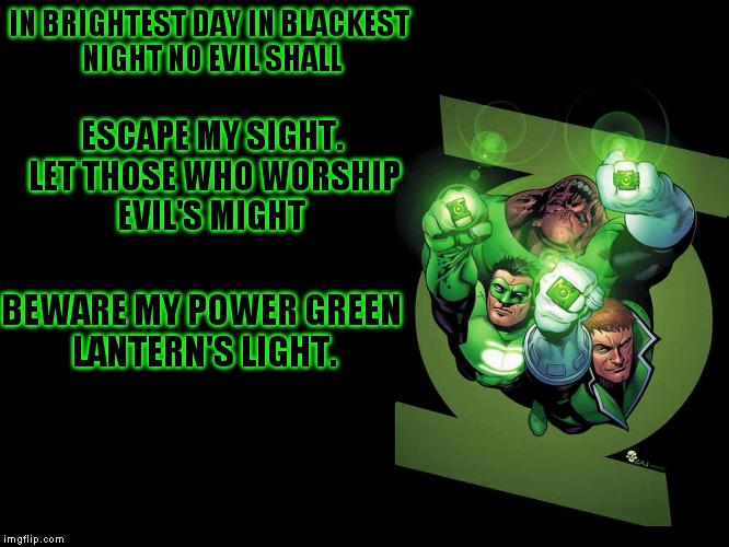 mtdib green lantern oath imgflip