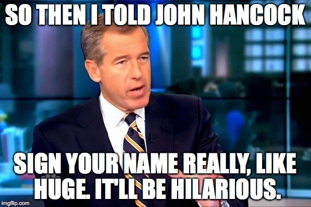 how to write like john hancock