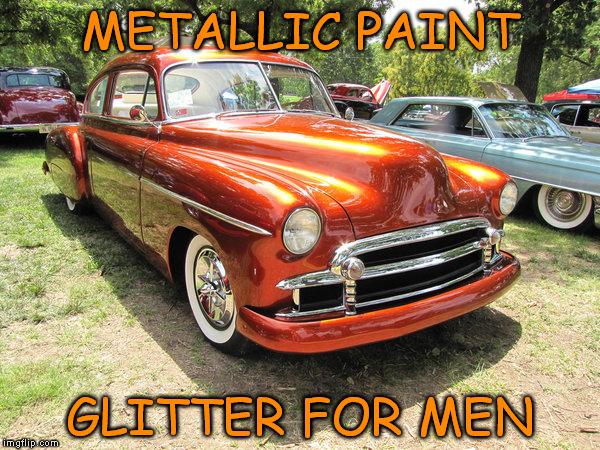 Burnt Orange Car Paint