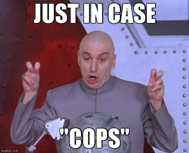 "JUST IN CASE ""COPS"" 