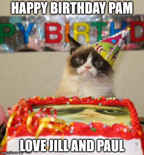 nbi6n grumpy cat birthday meme imgflip