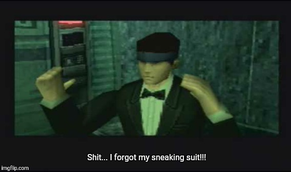 Snake Bond | Shit... I forgot my sneaking suit!!! | image tagged in snake,metal gear solid,mgs | made w/ Imgflip meme maker