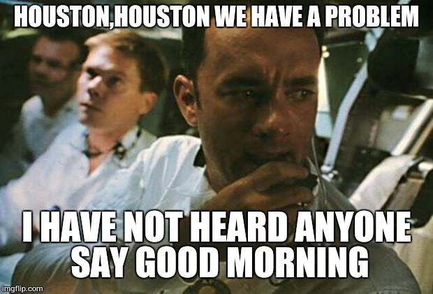 Why did apollo 13 say houston we have a problem — pic 1