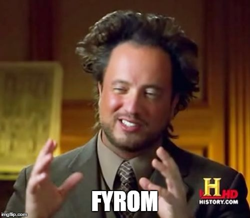 Ancient Aliens Meme | FYROM | image tagged in memes,ancient aliens | made w/ Imgflip meme maker