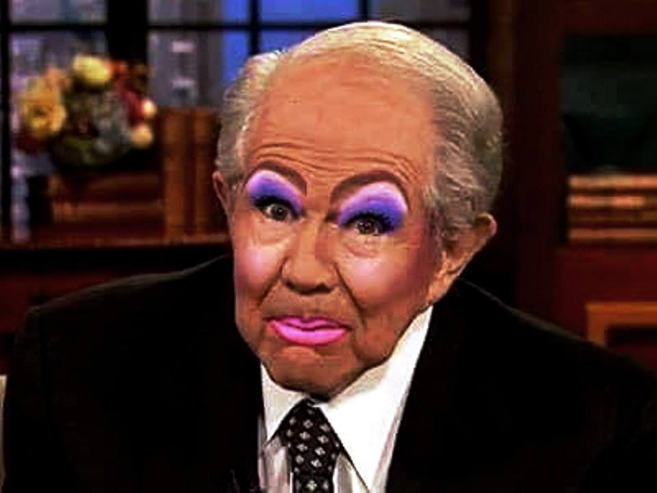 Image result for pics pat robertson in drag