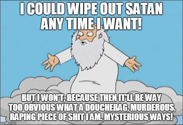 Image result for death vs god cartoons