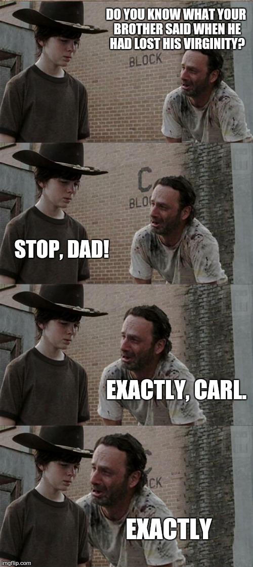 Rick And Carl Long Meme - Imgflip-3443