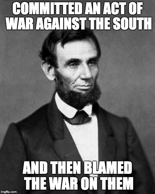 Image result for lincoln and slavery meme