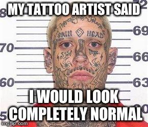 Tattoo Guy Imgflip