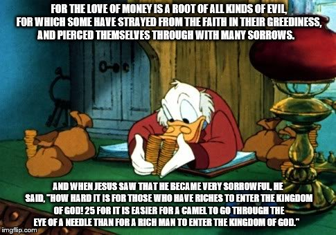 Image result for the love of money cartoons