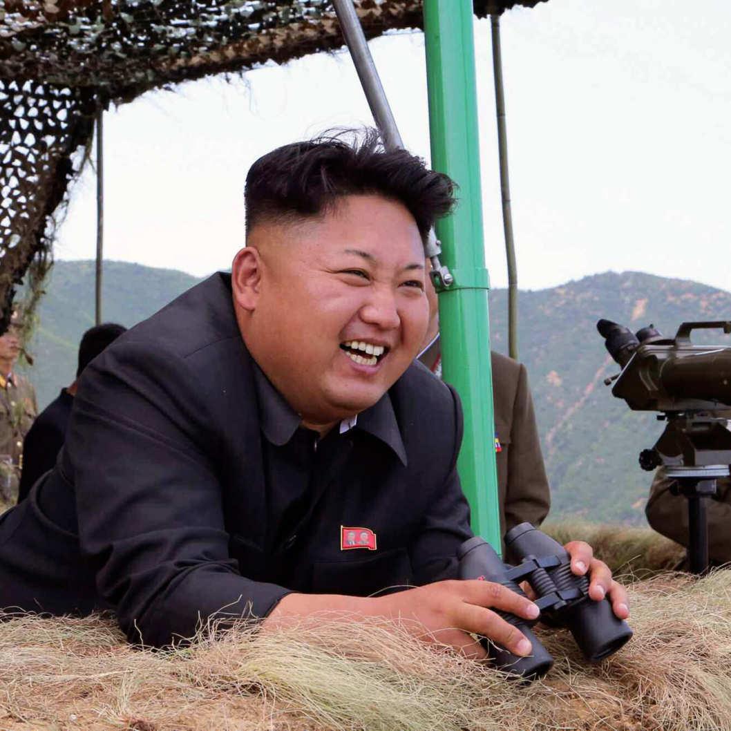 Happy Kim Jong Un Blank Template Imgflip