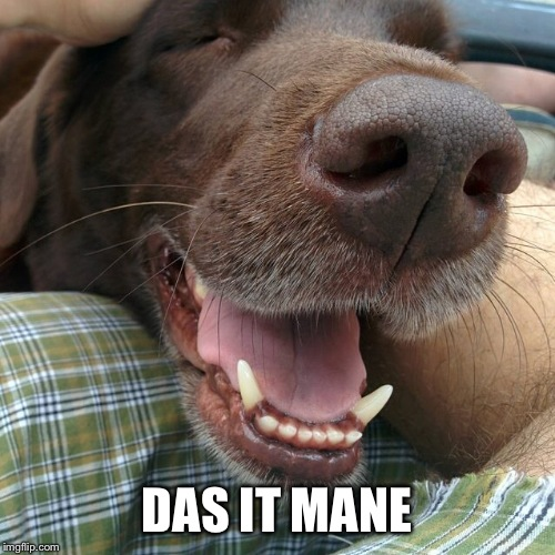 DAS IT MANE | made w/ Imgflip meme maker