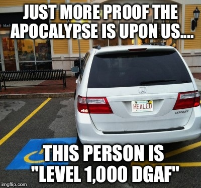 "How Do You Define Irony And ""Fuck All Ya'll"" At The Same Time? OBSERVE.. 