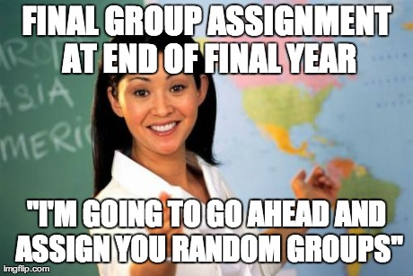 The absolute worst thing a prof could ever do - Imgflip