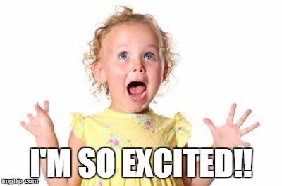 excited kid imgflip