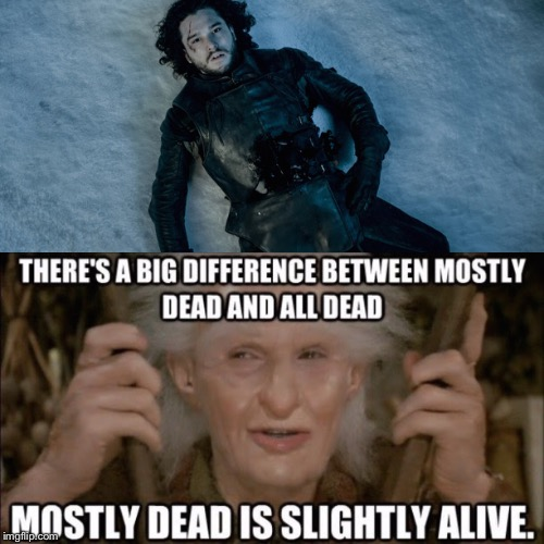 oiq9q if you don't know this movie reference, you know nothing jon snow
