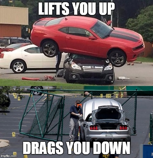 Muscle Car Rivalry Takes A New Turn Imgflip