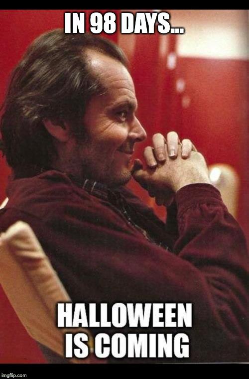 onrld jack nicholson's halloween countdown imgflip,Count Down Meme