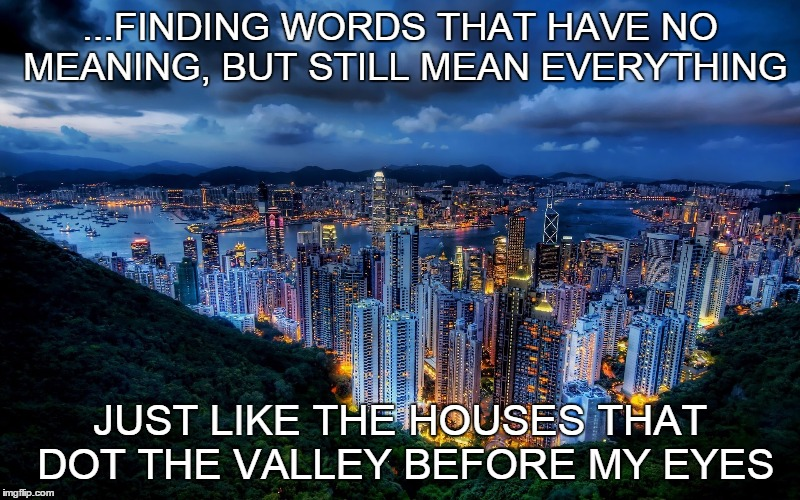 """The Valley of the City"" 