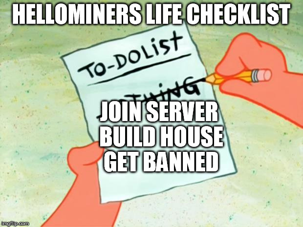 ooula patrick star to do list imgflip