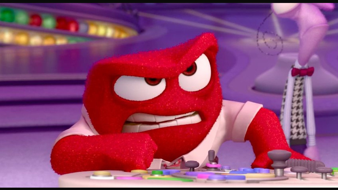 Inside Out Anger Meme Generator - Imgflip