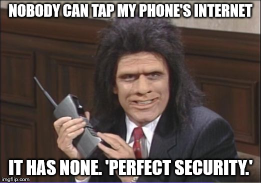 Caveman Phone : Perfect phone security is achievable imgflip