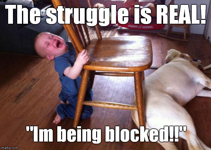 oui1n kid struggles 1 imgflip,The Struggle Is Real Meme