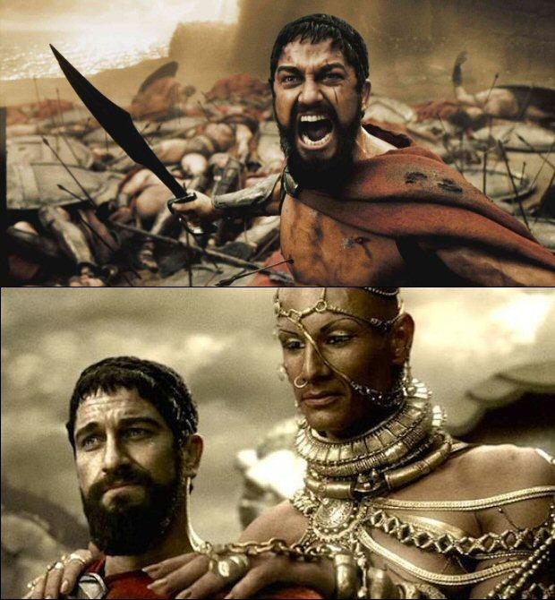 Смешные картинки про спартанцев, картинки