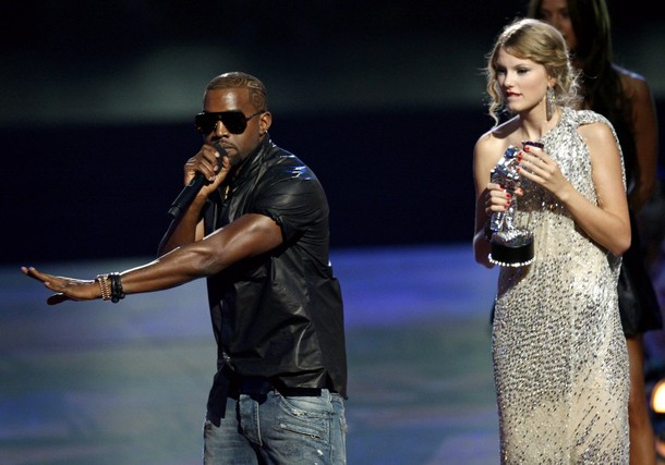 Kanye West Taylor Swift Meme Template
