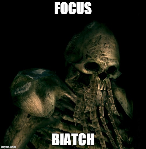 FOCUS BIATCH | made w/ Imgflip meme maker
