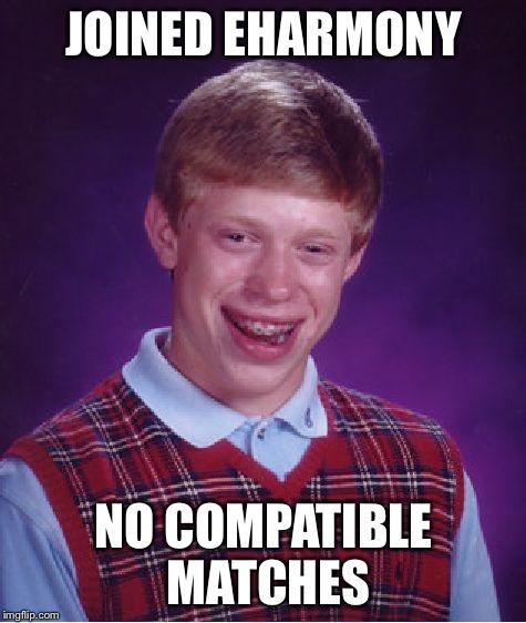 no luck on eharmony