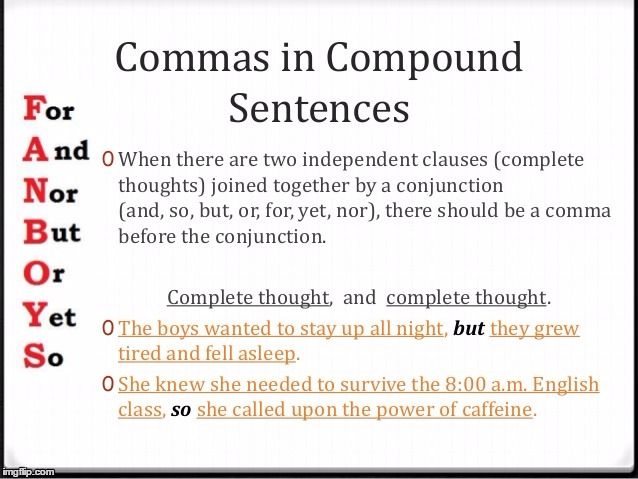 Comma Splices | . | image tagged in comma splices | made w/ Imgflip meme maker