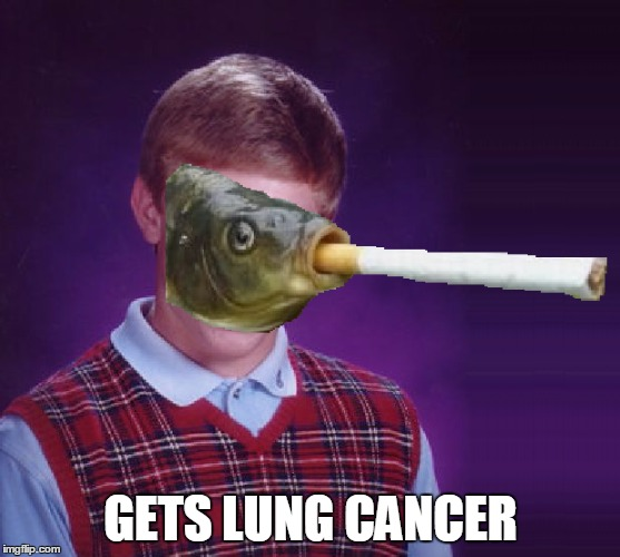 GETS LUNG CANCER | made w/ Imgflip meme maker
