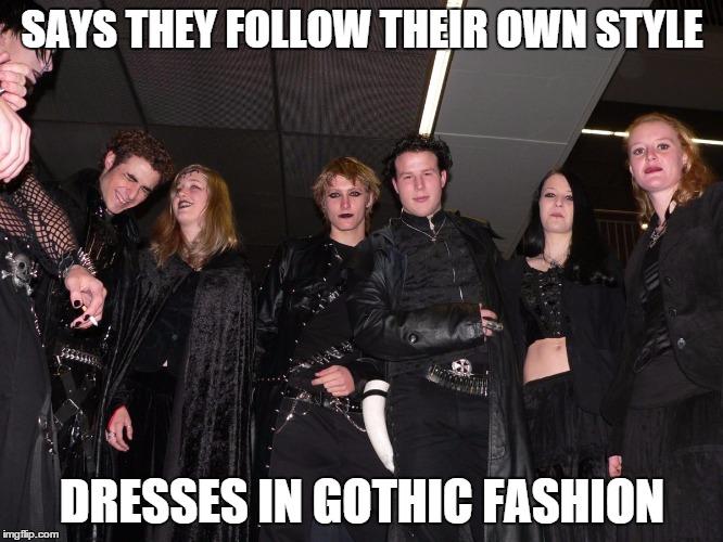 Goth People Imgflip