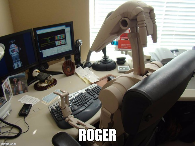 ROGER | made w/ Imgflip meme maker