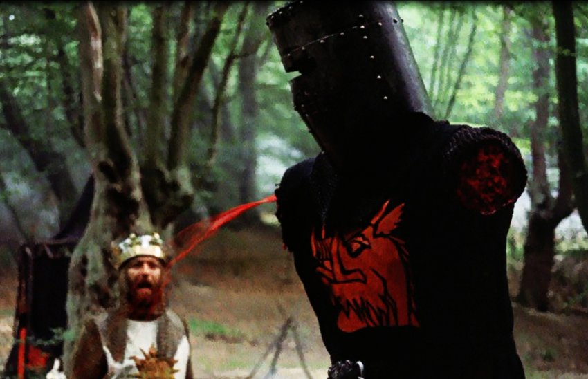 High Quality Monty Python Black Knight Blank Meme Template