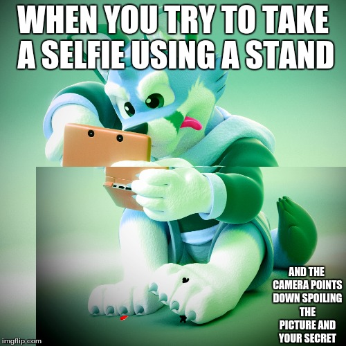 Those awkward moments when your picture is ruined... | WHEN YOU TRY TO TAKE A SELFIE USING A STAND AND THE CAMERA POINTS DOWN SPOILING THE PICTURE AND YOUR SECRET | image tagged in memes,awkward moment sealion | made w/ Imgflip meme maker
