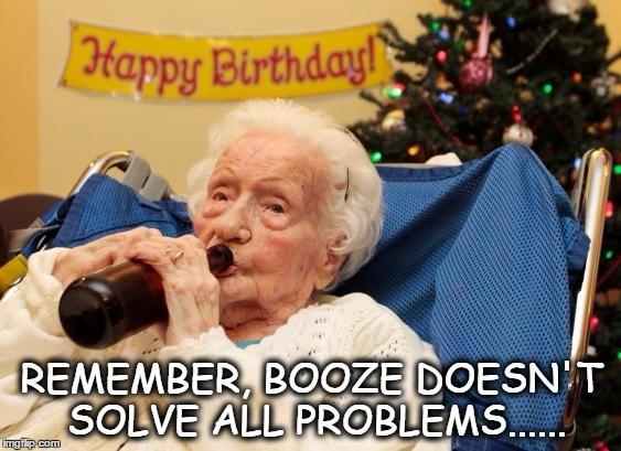 pmhod grandma drinking booze imgflip