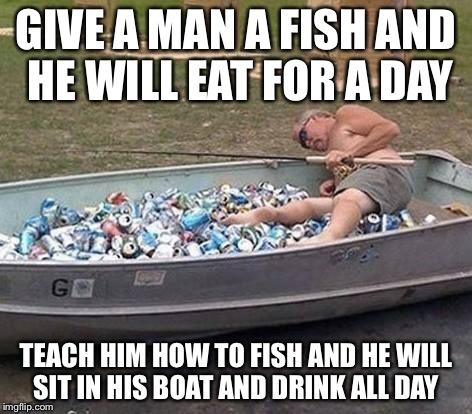 pou9a fishing drinking imgflip,Fishing Birthday Meme