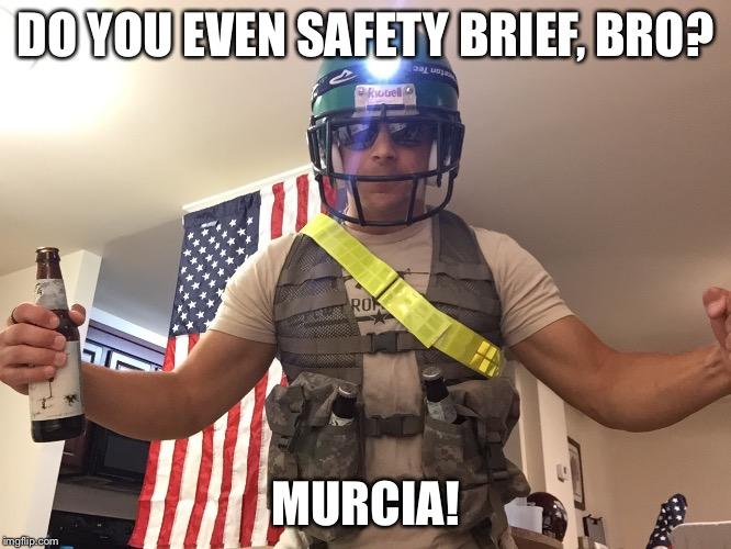 povcu captain safety brief imgflip,Safety Brief Meme