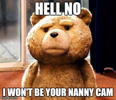 Image result for nanny cam teddy bear gifs
